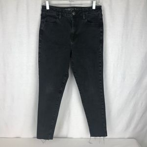 American Eagle Womens 10S High Black Jeggings